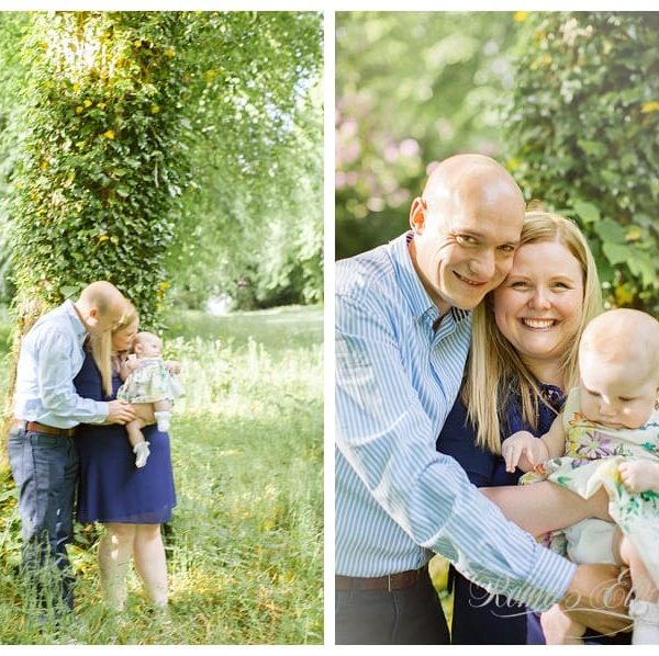 KATIE M, KELLY & IAIN // FAMILY PHOTOSHOOT // POLLOK PARK, GLASGOW
