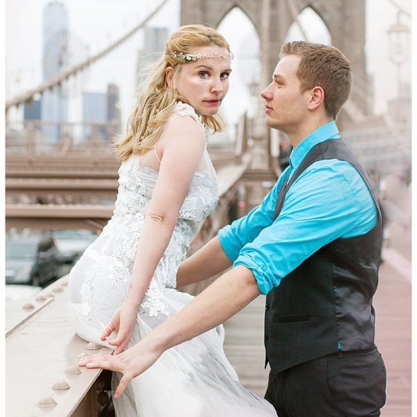 BROOKLYN BRIDGE LOVE // NEW YORK WEDDING // BROOKLYN