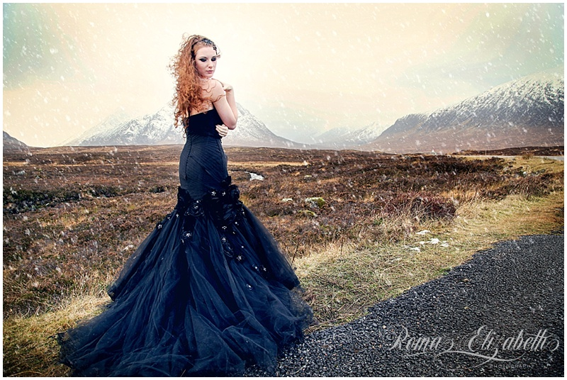 fairytale highlands wedding photographer scotland