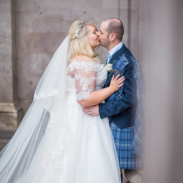 Lauren & Murdos Glasgow City centre wedding // 29 Private members club
