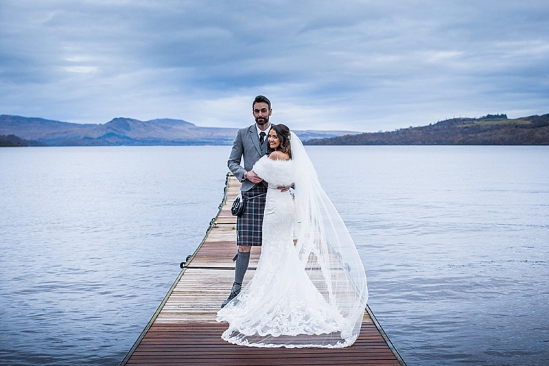 The Cruin Wedding, Loch Lomond wedding Scotland
