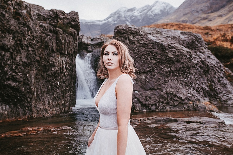 isle of skye wedding photoshoot