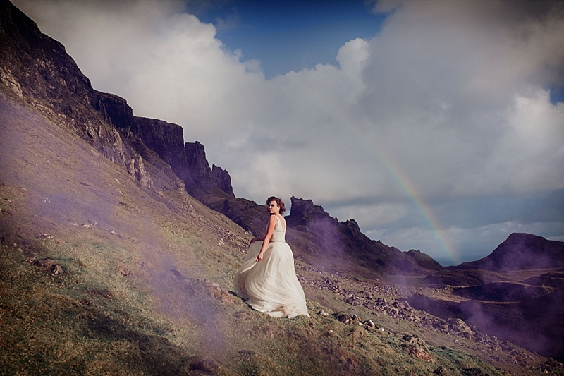 Isle of skye fairytale photoshoot