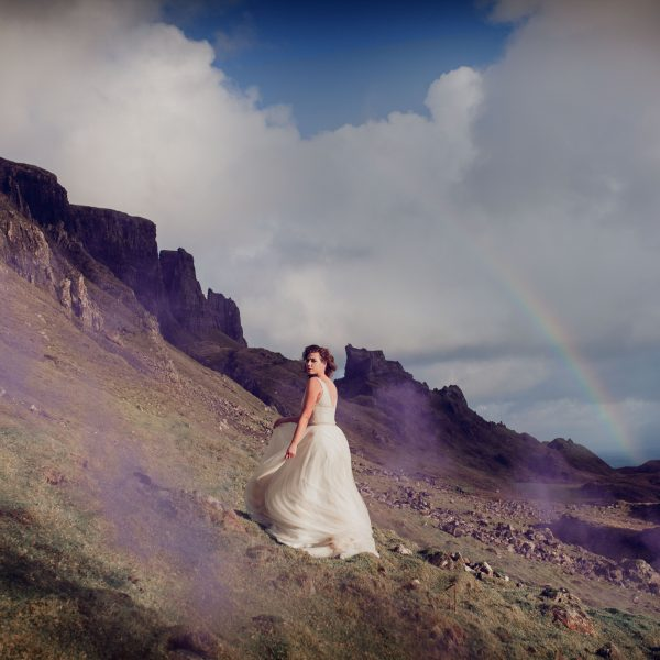 La Kaiser Photoshoot //  Isle of Skye wedding