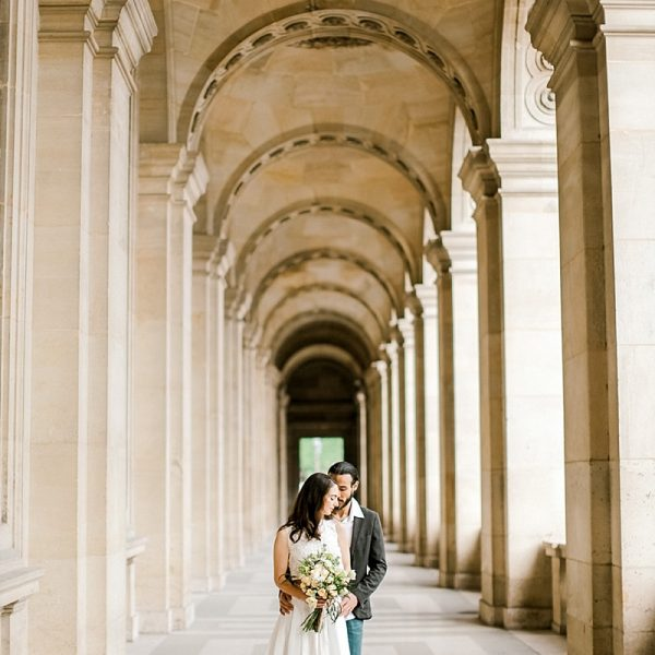 Paris Elopement Photographer // Amelia & Patrick