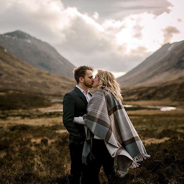 Glencoe Engagement Photography // Jill & Liam