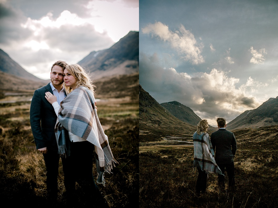 Glencoe Engagement Photography