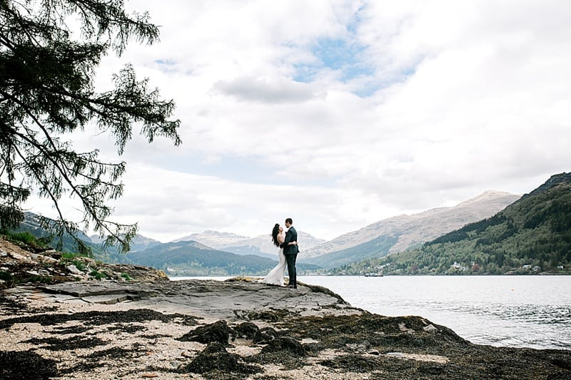 The Lodge on Lochgoil Wedding