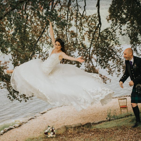 The Lodge on Loch Goil Elopement // Joanne & Ian